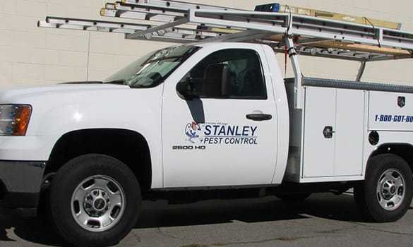 Stanley Pest Control Service Truck