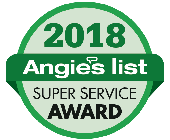 Angie's List 2018 Super Service Award logo